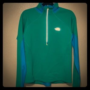 The North Face long sleeve pullover.